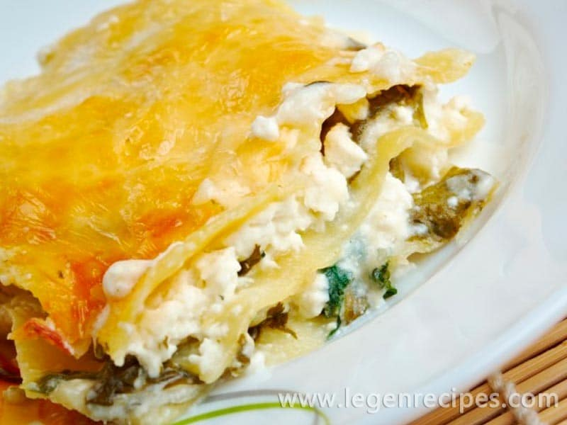 Lasagna Recipe With Cottage Cheese