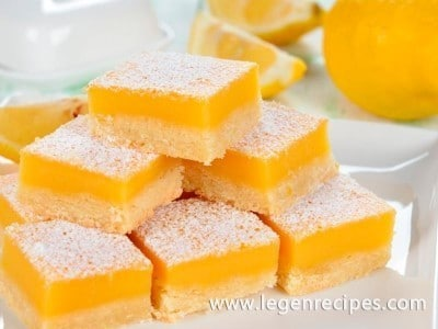 Lemon bars recipes