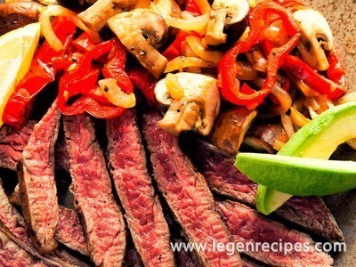 Mexican Steak with Mushrooms Recipe