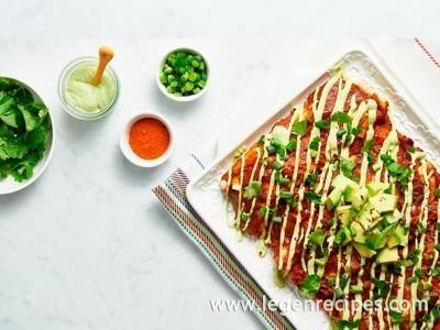 Next Level Vegan Enchiladas