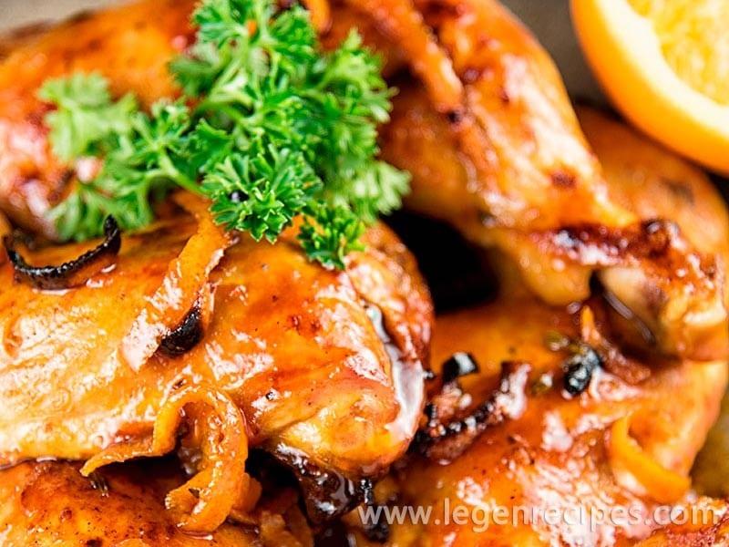 Orange and Thyme Chicken Recipe