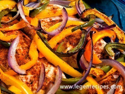 Oven Chicken Fajita Bake Recipe
