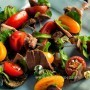 Pesto and Tomato Duck Skewers Recipe