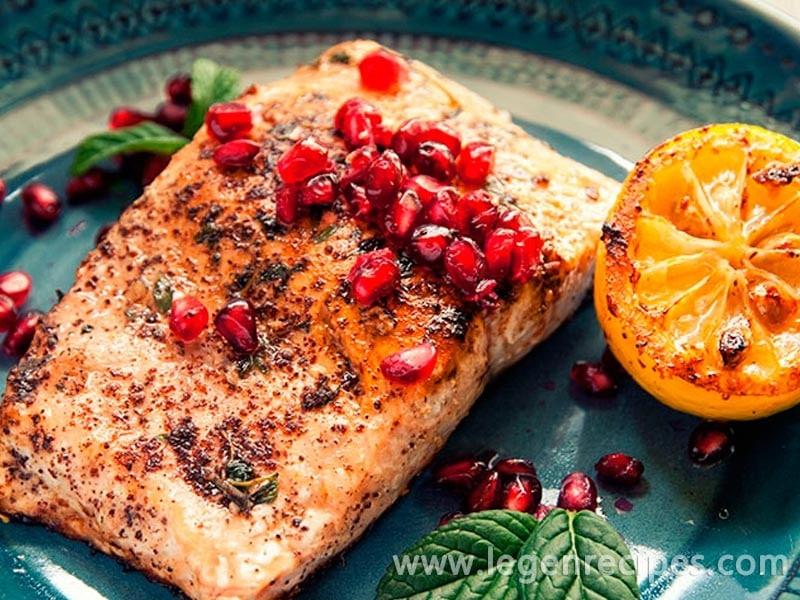 Pomegranate Salmon Recipe