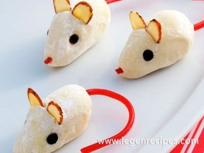 Prepare the truffle mice from Cinderella