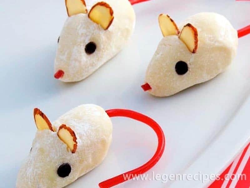 Prepare the truffle mice from Cinderella