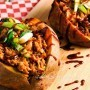 Pulled Pork Stuffed Sweet Potatoes Recipe