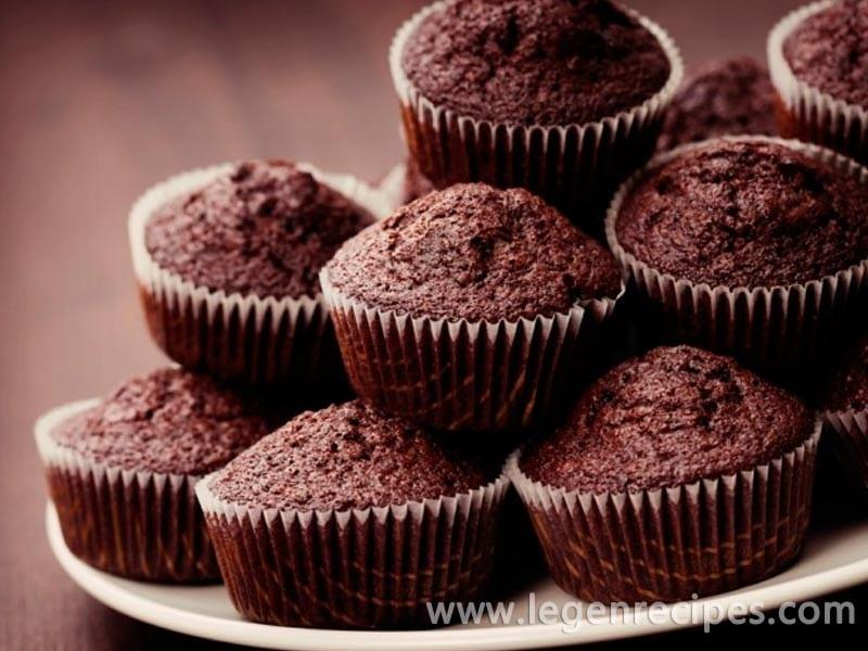 Recipe chocolate banana muffins