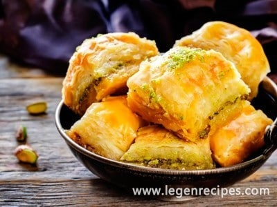 Recipe of baklava