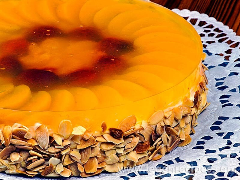 Recipe of fruit jelly dessert