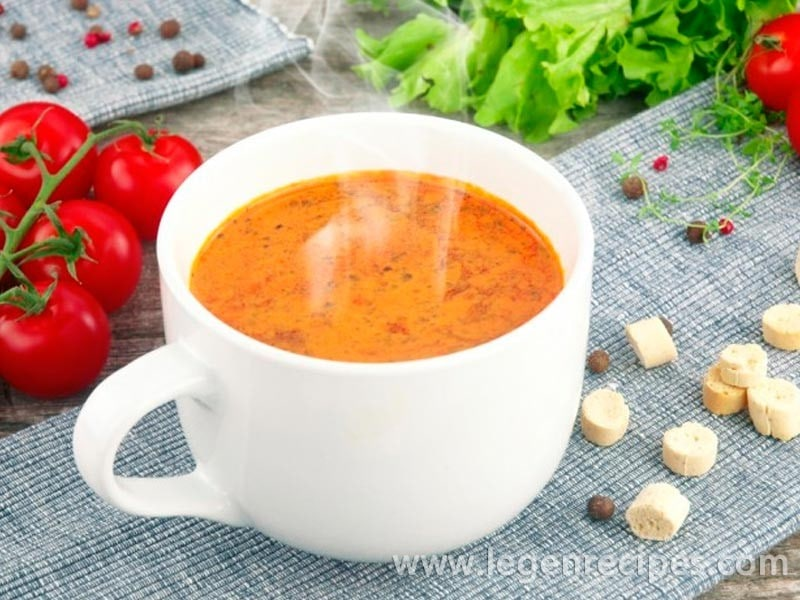 Recipe tomato vegetable soup in slow cooker