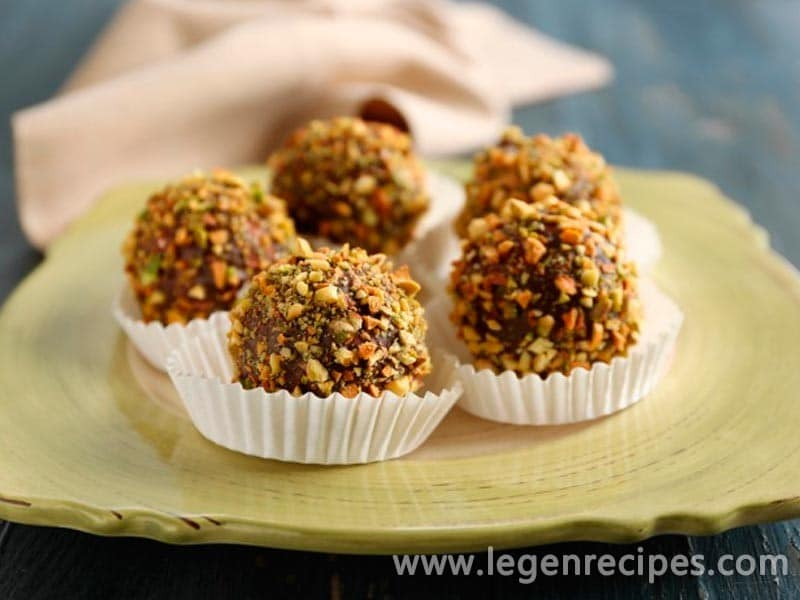 Recipe truffles chocolate