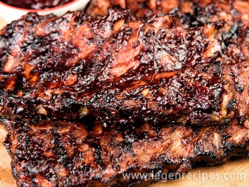 Ribs With Mixed Berry BBQ Sauce Recipe