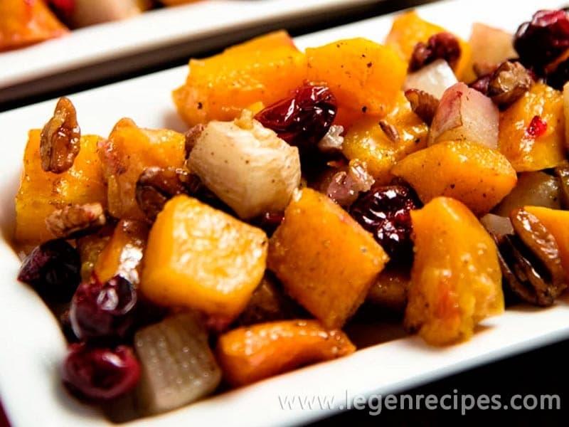 Roasted Butternut Squash And Turnips Recipe