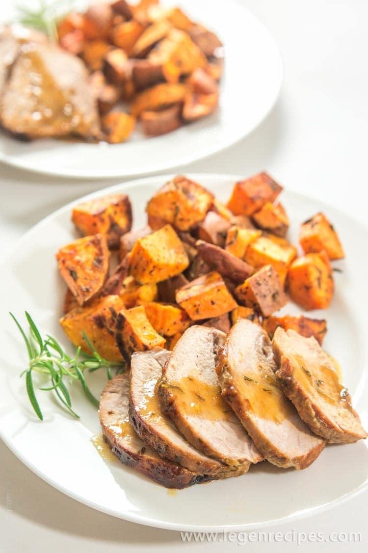 yum rosemary honey mustard pork tenderloin ingredients 1 pound pork ...