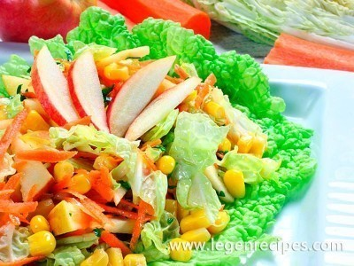Salad with NAPA cabbage