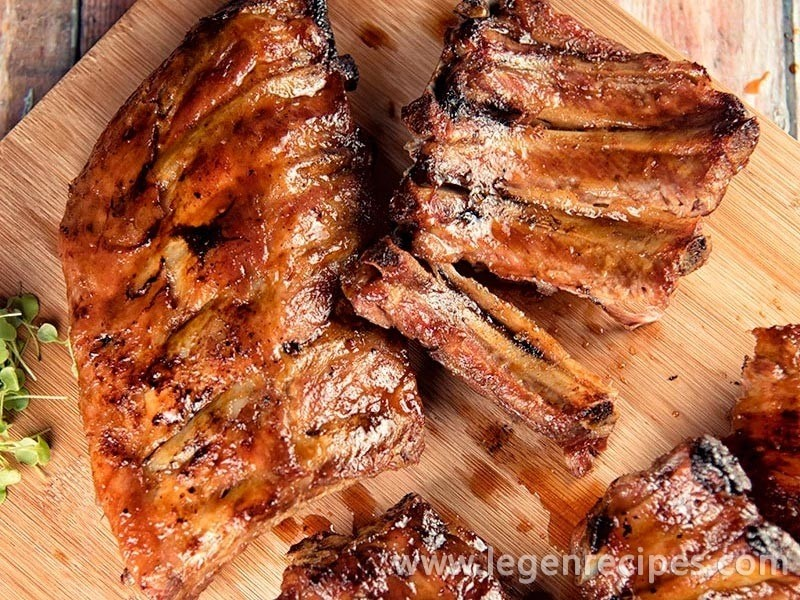 Spicy Honey-Glazed Ribs Recipe