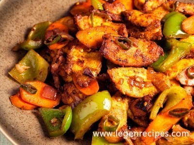 Spicy Indian Chicken Stir-Fry Recipe