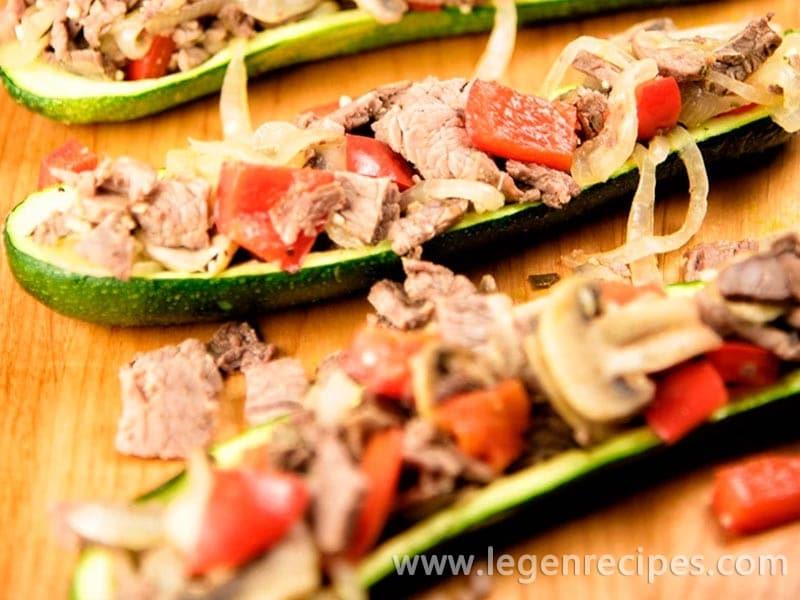 Steak Zucchini Boats Recipe