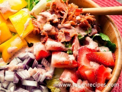 Strawberry Poppy Seed Salad Recipe