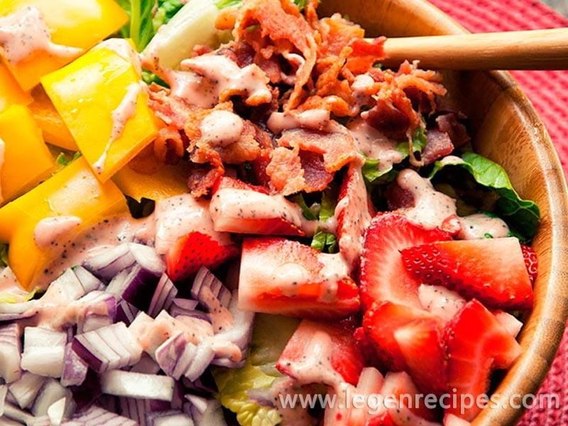 Strawberry Poppy Seed Salad Recipe