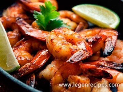 Sweet Lemon Shrimp Recipe