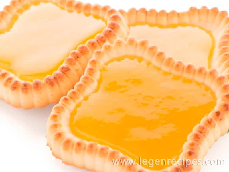 Tartlets with lemon