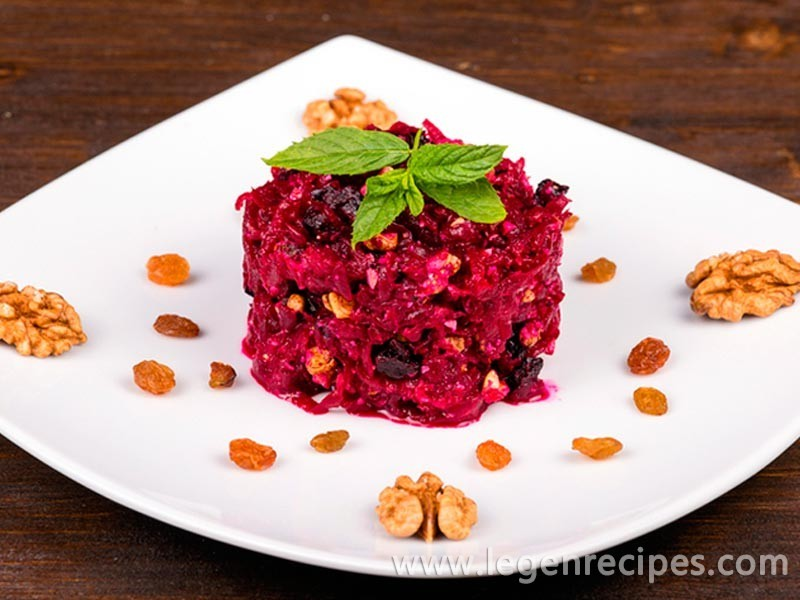 Recipe for the classic beet salad