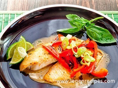 Tilapia With Thai Curry Recipe