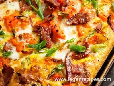 Twice Baked Sweet Potatoes With Eggs Recipe