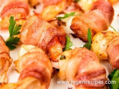 Zesty Marinated Bacon-Wrapped Shrimp Recipe