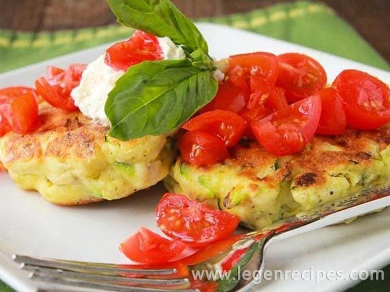 Zesty Zucchini Corn Cakes