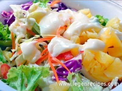 Recipe Hawaiian salad