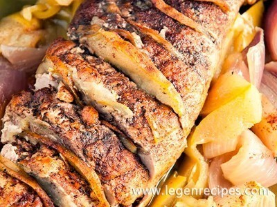 Apple-Cinnamon Pork Loin Recipe