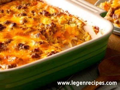 Cheesy Chorizo Breakfast Casserole