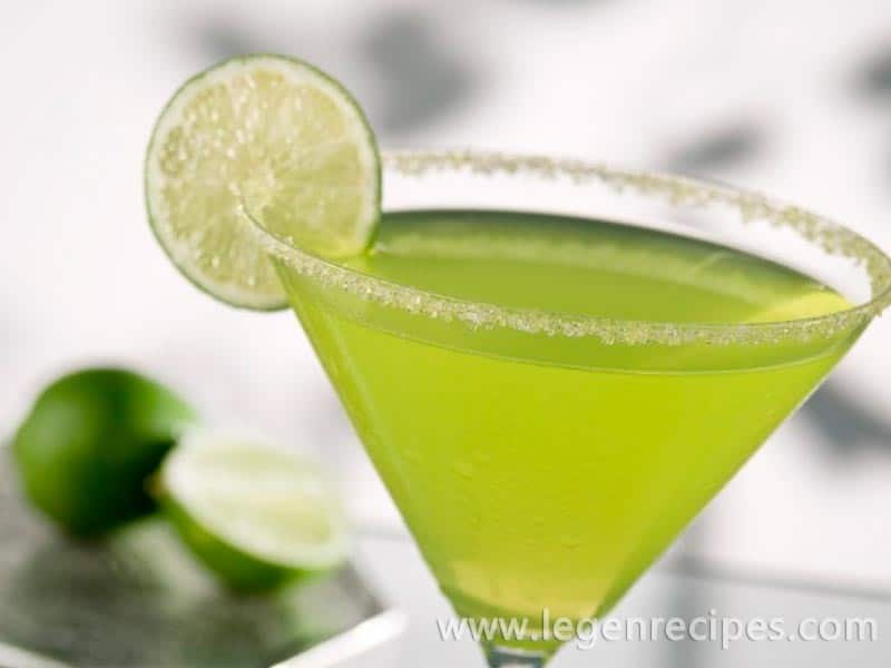 Cocktail recipe Margarita