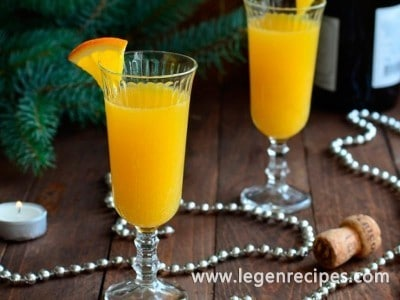 Cocktail recipe Mimosa