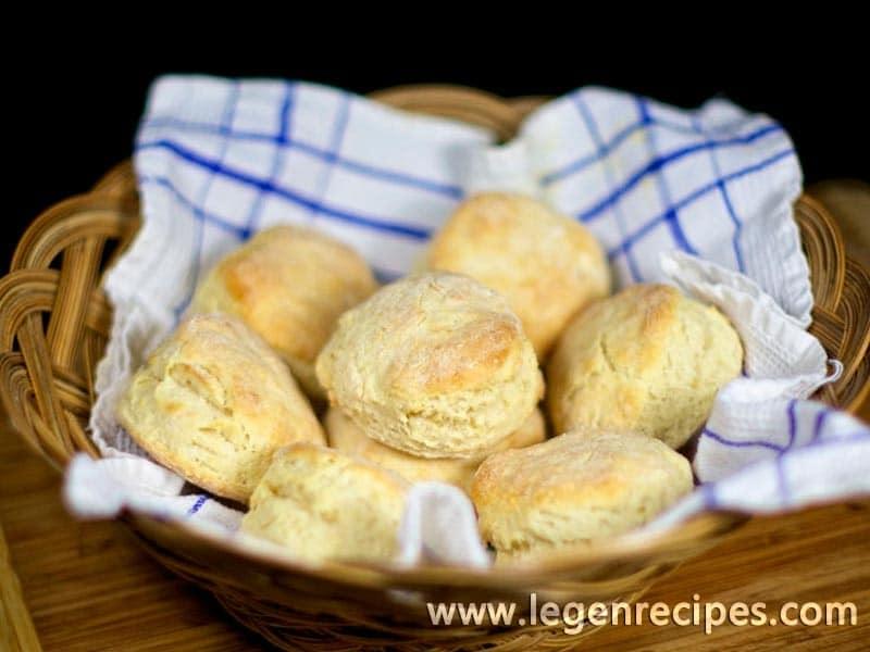 Flaky Kefir Biscuits
