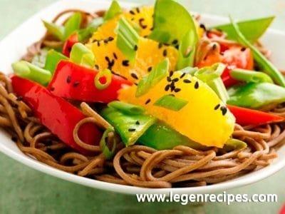 Healthy Sesame Soba Noodle Bowls