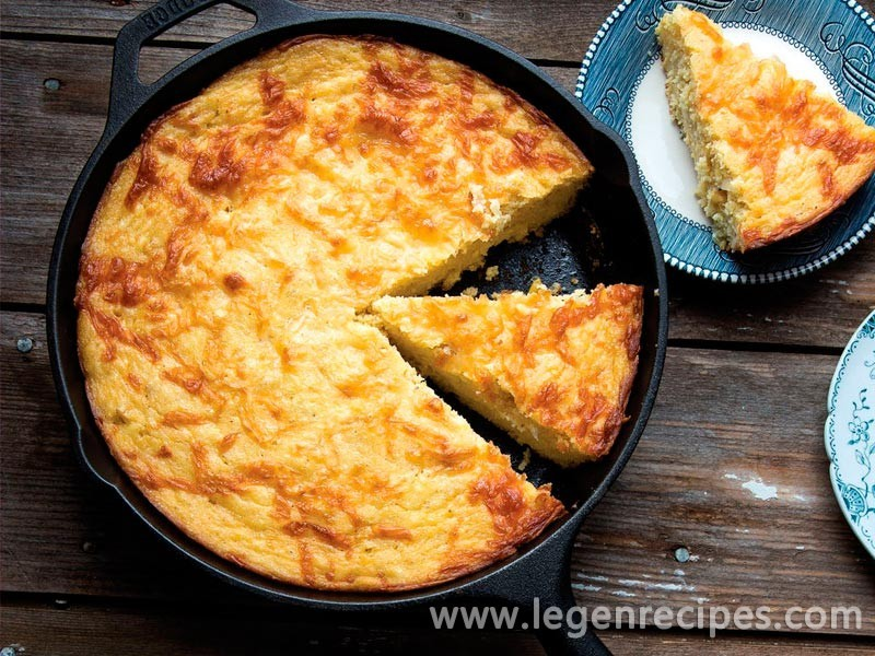 Lee Bailey's Sour Cream Corn Bread