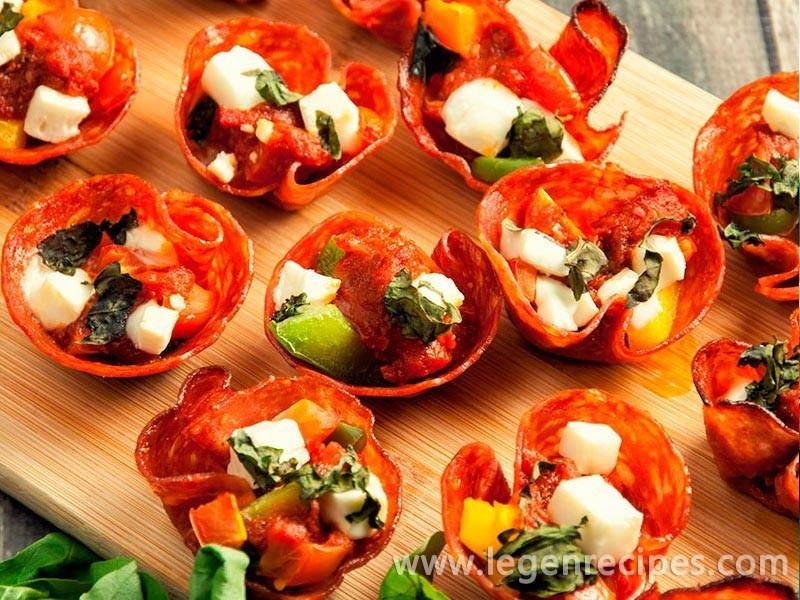 Mini Pepperoni Pizza Bites Recipe