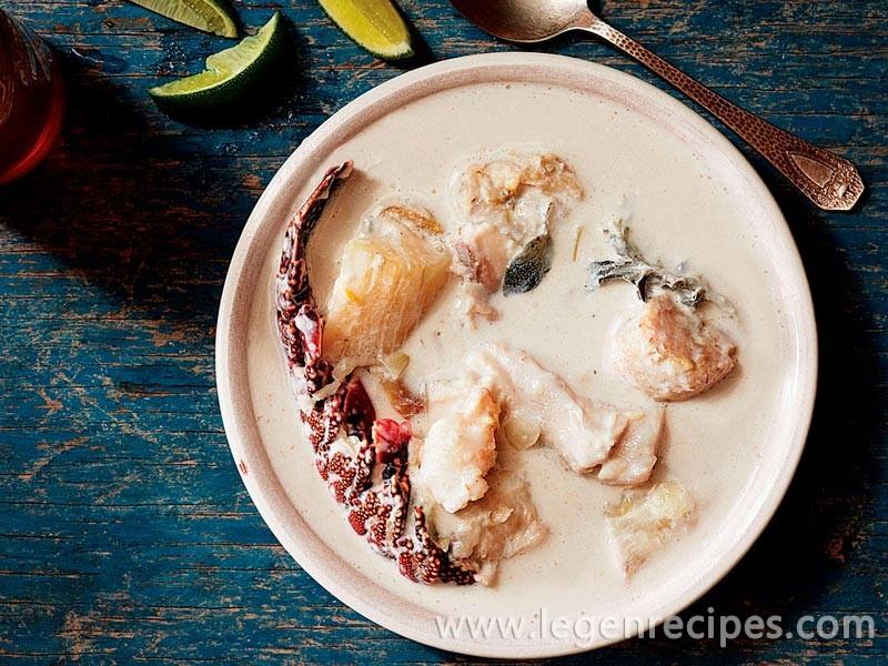 "Nicaraguan ""Rundown"" Seafood Soup"