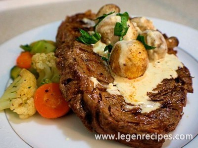 Oven Rib-eye Steak