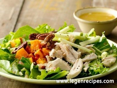Paleo Gluten-Free Apple Pecan Chicken Salad