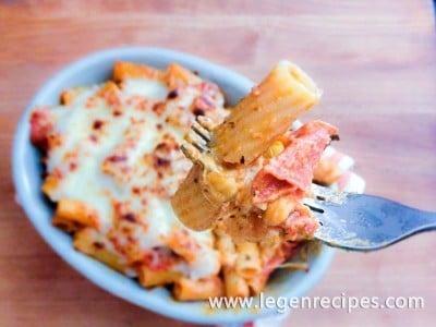 Pepperoni Pizza Mac N' Cheese