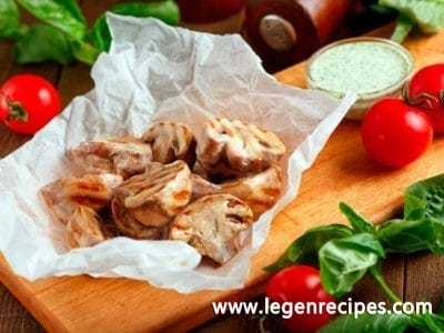 Picy grilled mushrooms