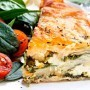 Pie recipe with spinach and feta