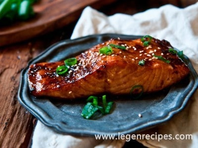 Porter Ginger Glazed Salmon