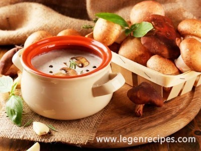 Recipe of mushroom soup