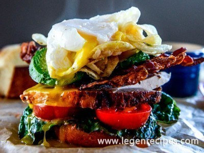Roasted turkey potato chip blat